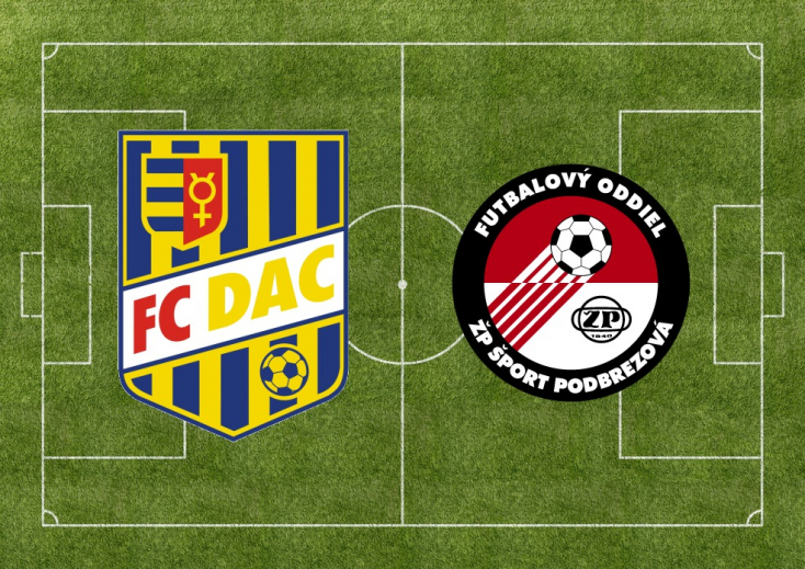Fortuna Liga: FC DAC 1904 - FK Železiarne Podbrezová 1:0 (Online)