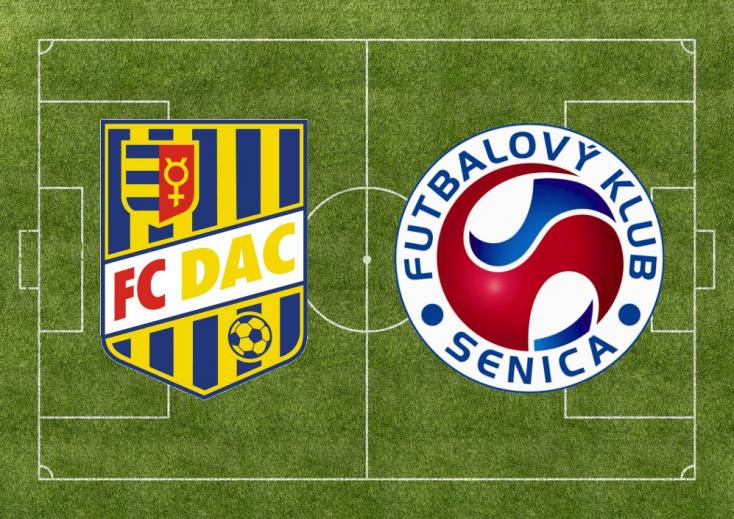 Fortuna Liga: FC DAC 1904 - FK Senica 3:1 (Online)