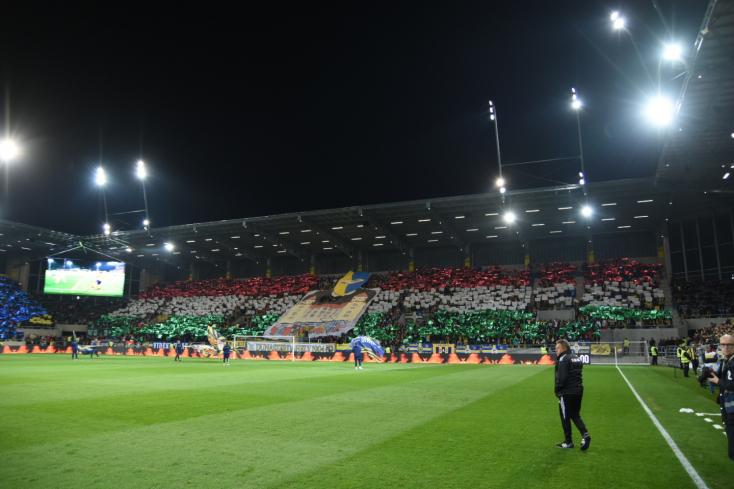 DAC-Slovan: Hat magyarországi drukkert büntetett meg a rendőrség