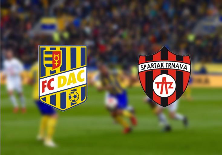 Fortuna Liga: FC DAC 1904 – Spartak Trnava 0:0 (Online)