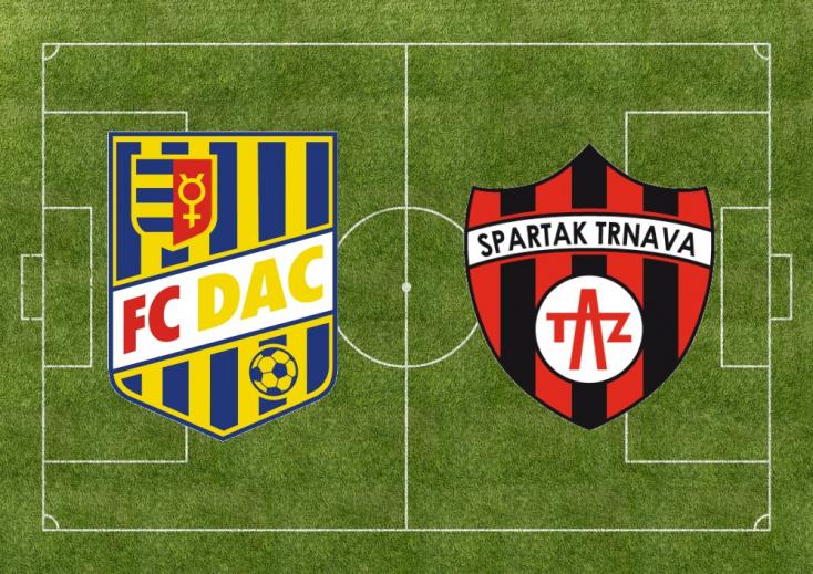 Fortuna Liga: FC DAC 1904 - Spartak Trnava 0:0 (Online)