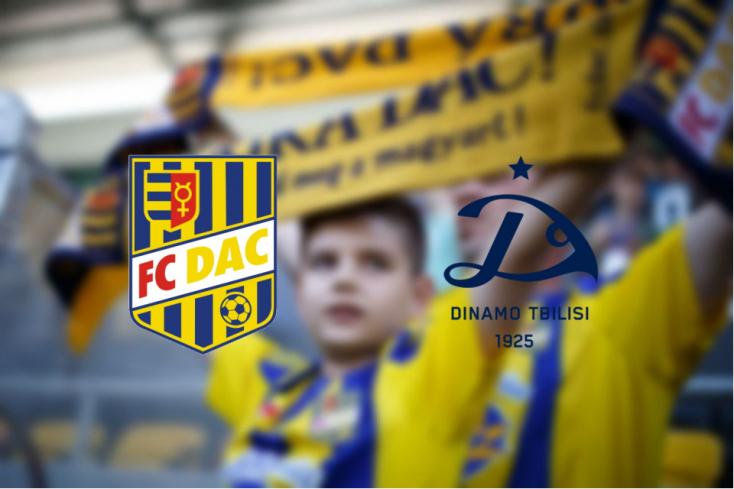 Európa Liga: FC DAC 1904 – Dinamo Tbiliszi 1:1 (Online)
