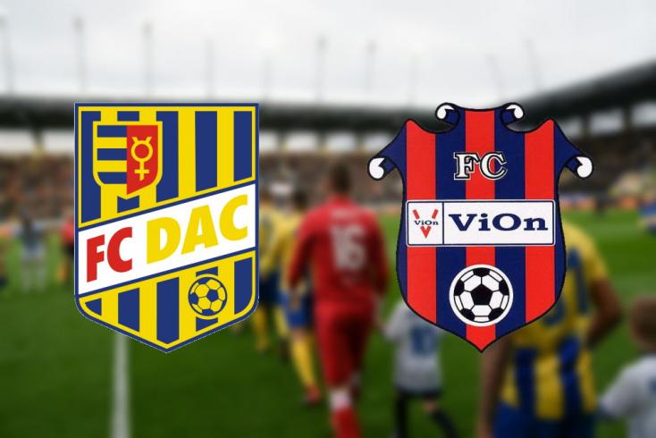 Fortuna Liga: FC DAC 1904 - FC ViOn Zlaté Moravce 3:1 (Online)