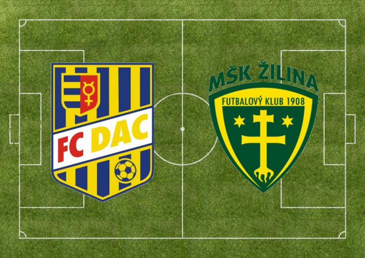 Fortuna Liga: FC DAC 1904 - MŠK Žilina 2:2 (Online)