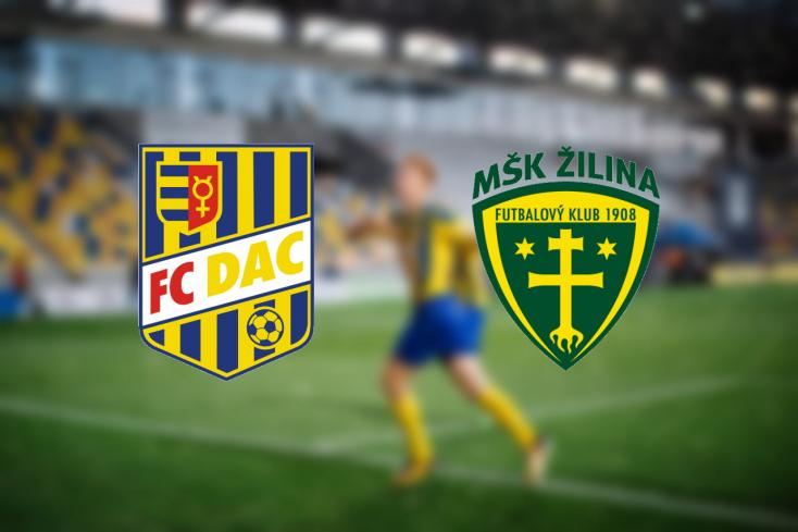 Fortuna Liga: FC DAC 1904 – MŠK Žilina 3:1 (Online)