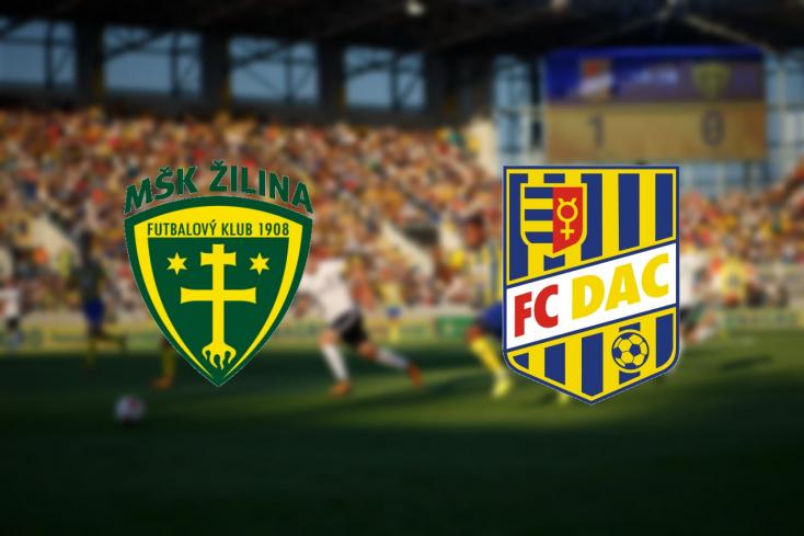 Fortuna Liga: MŠK Žilina – FC DAC 1904 0:0 (Online)