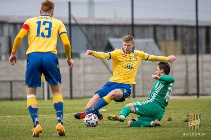 A DAC az MFK Dubnicával játszik a MOL Akadémián szombaton