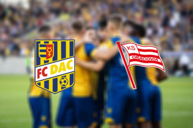 Európa Liga: FC DAC 1904 - KS Cracovia Kraków 1:1 (Online)