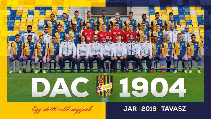 Elkészült a DAC 2019-es tavaszi hivatalos csapatképe!