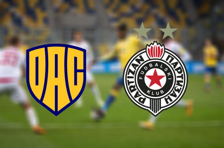 Konferencia-liga: FC DAC 1904 – FK Partizan Belgrád 0:2 (Online)