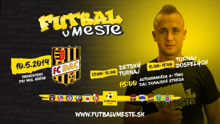 A Futball a városban projekt Dunaszerdahelyre érkezik