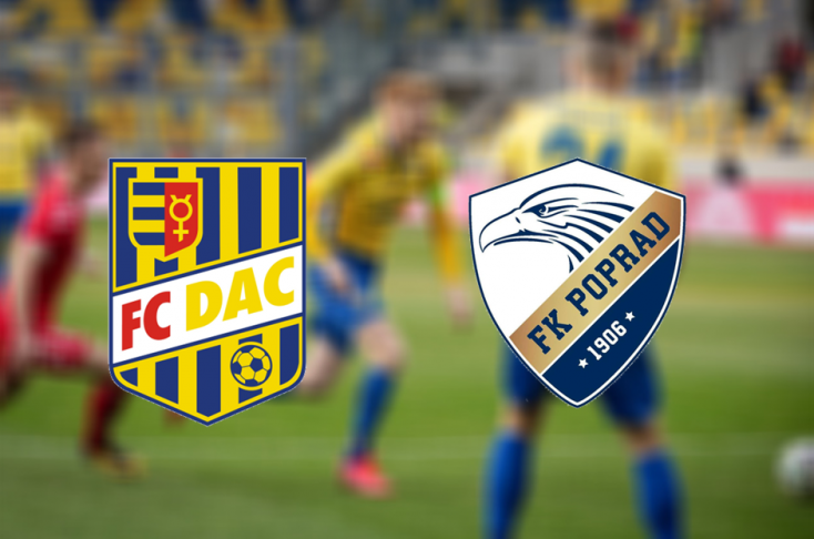 Slovnaft Cup: FC DAC 1904 - FK Poprad 2:0 (Online)