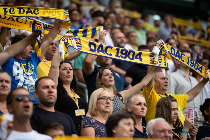 DAC: A klub ingyen biztosítja a jegyet a Žilina elleni bajnokira a feltételeket teljesítő szurkolóknak