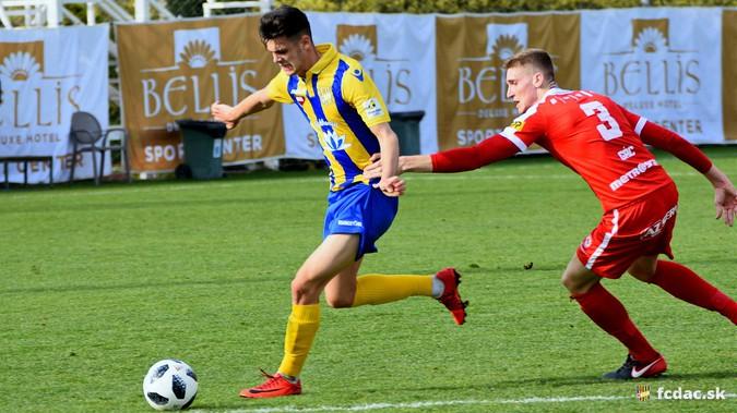 Előkészületi mérkőzés: FC DAC 1904 - FC Zbrojovka Brno 2:1 (2:1) VIDEÓ