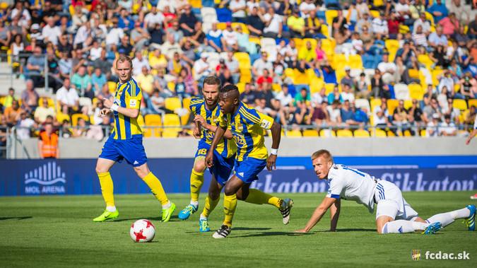 Gól nélküli döntetlennel végződött az FC DAC 1904 - FC FASTAV Zlín előkészületi meccs