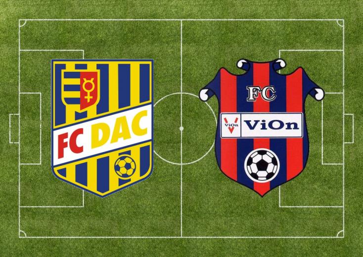 Fortuna Liga: FC DAC 1904 - ViOn Zlaté Moravce 1:0 (Online)