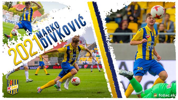 Marko Divković 2021-ig szóló szerződést kötött a DAC-cal