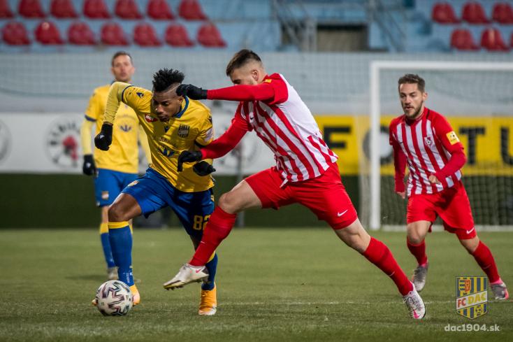 Fortuna Liga, 12. forduló: Elszalasztotta a lehetőséget, kikapott a DAC a szerediektől