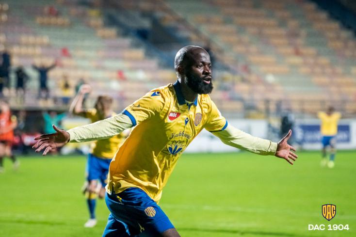 A DAC kameruni szélsője volt a Fortuna Liga 8. fordulójának a legjobbja