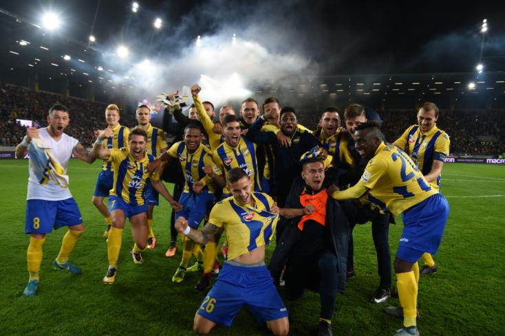 Fortuna Liga: FC DAC 1904 - ŠK Slovan Bratislava 2:1 (Online)