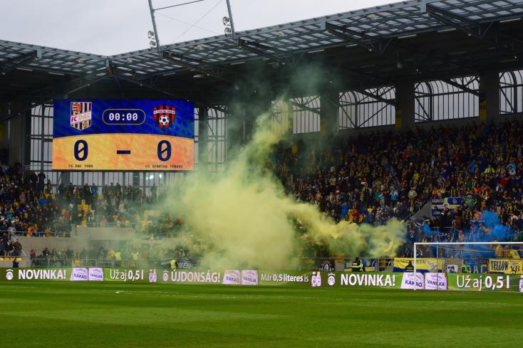 Három Spartak- és két DAC-szurkolót is eltiltottak a meccsektől!