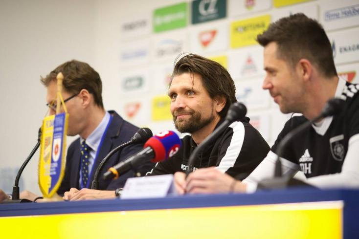 """Michalovce-DAC – Hyballa: """"Az első gólnál szerencsénk volt, de a második egy parádés kontratámadásból született"""""""