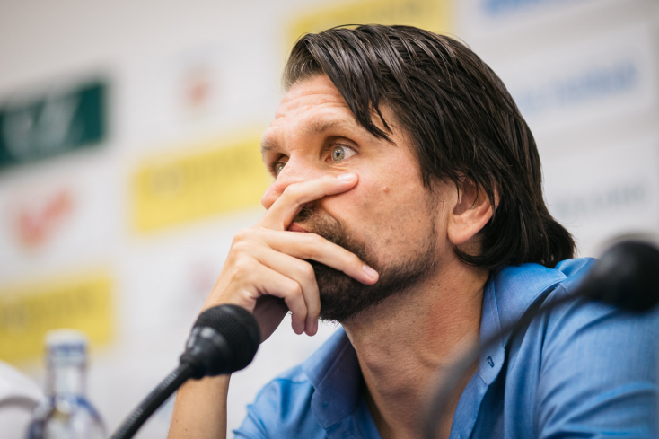 """Michalovce-DAC – Hyballa: """"Az döntött, hogy gyermeteg hibák miatt három gólt is odaajándékoztunk"""""""
