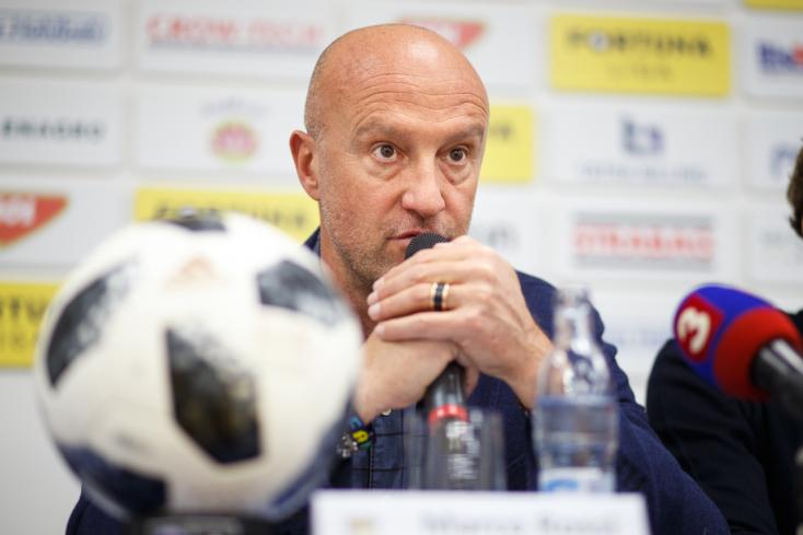 """DAC-Slovan – Rossi: """"Ha nem végzünk Európa Ligát érő helyen, beleugrok a Dunába"""""""
