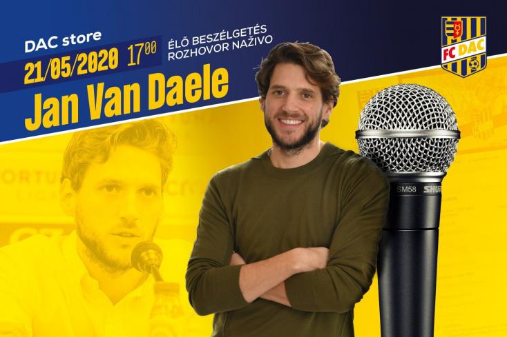 Jan Van Daele a DAC sportigazgatója válaszol a szurkolói kérdésekre a klub Facebook-oldalán
