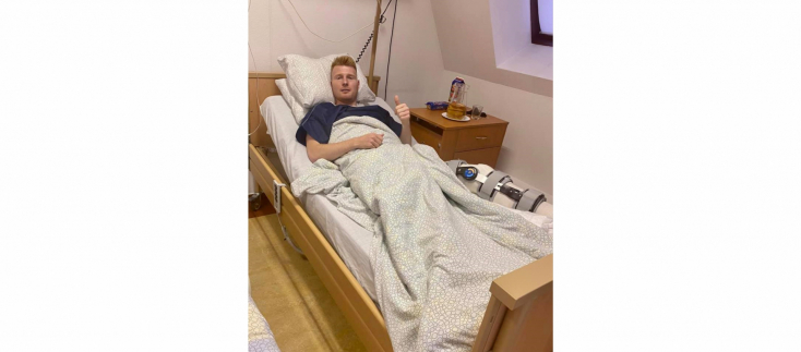 Kalmár sikeres térdműtéten esett át