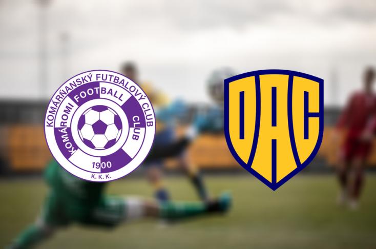 Slovnaft Cup: KFC Komárom – FC DAC 1904 0:0 - büntetőkkel 4:3 (Online)