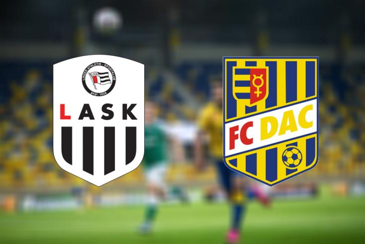 Európa-liga: LASK Linz – FC DAC 1904 7:0 (Online)