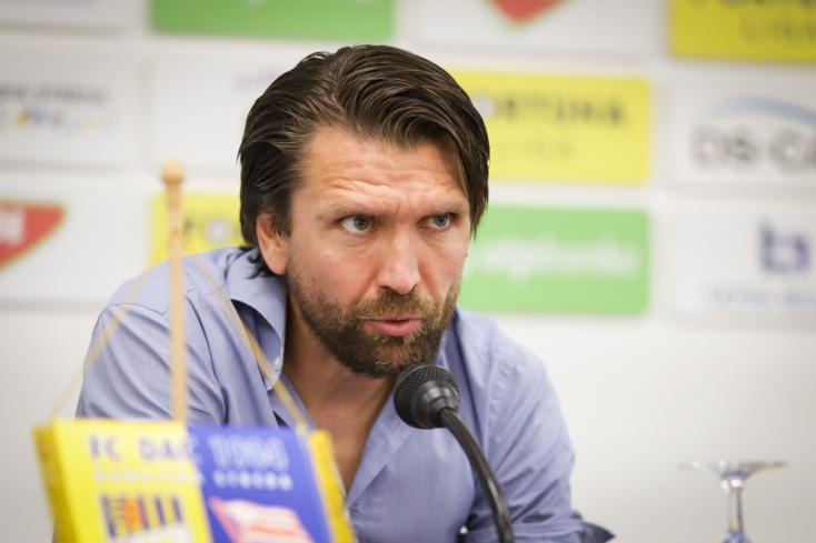 """DAC-Cracovia – Hyballa: """"Az eredmény jó, tudunk gólt szerezni a Cracovia otthonában is"""""""