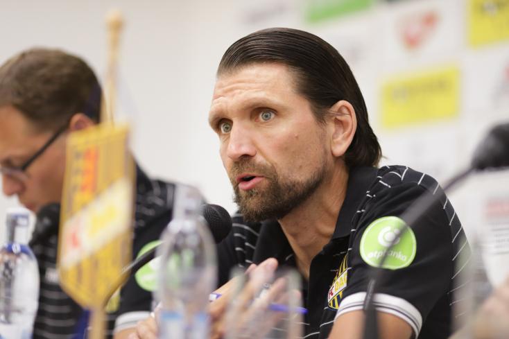 """Európa-liga – Hyballa: """"Fontos, hogy 1-2 gólt lőjünk és Jedlička egyet se kapjon"""""""