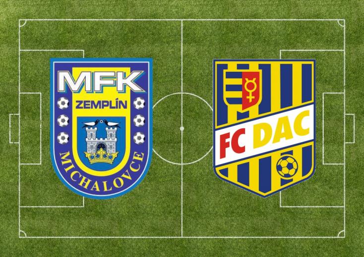 Fortuna Liga: MFK Zemplín Michalovce – FC DAC 1904 1:2 (Online)