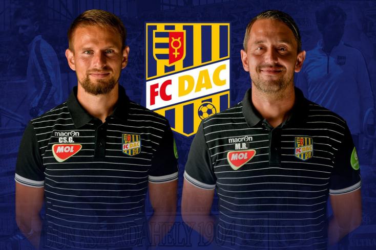 Visszatért a DAC-ba Martin RaškaésGábriš Csaba