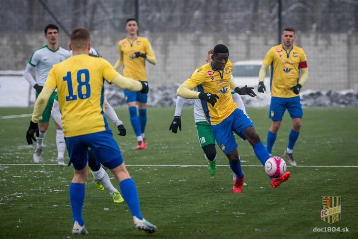 Téli Tipsport Liga: Újabb DAC-vereség
