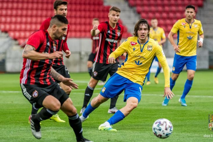 Fortuna Liga, rájátszás, 2. forduló: Nagyszombatban győzött a DAC – jöhet az Európa-liga!
