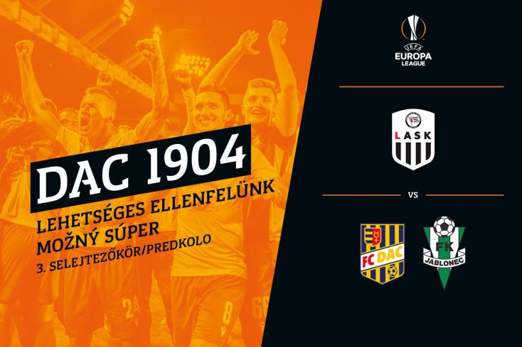 Osztrák csapat vár a DAC-ra, ha a sárga-kékek továbbjutnak az Európa-liga 3. selejtezőkörébe