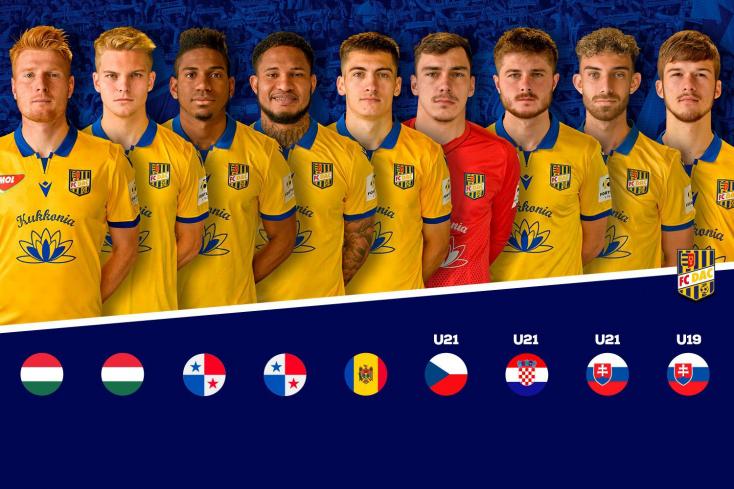 A DAC kilenc játékosa kapott behívót hazája válogatottjába