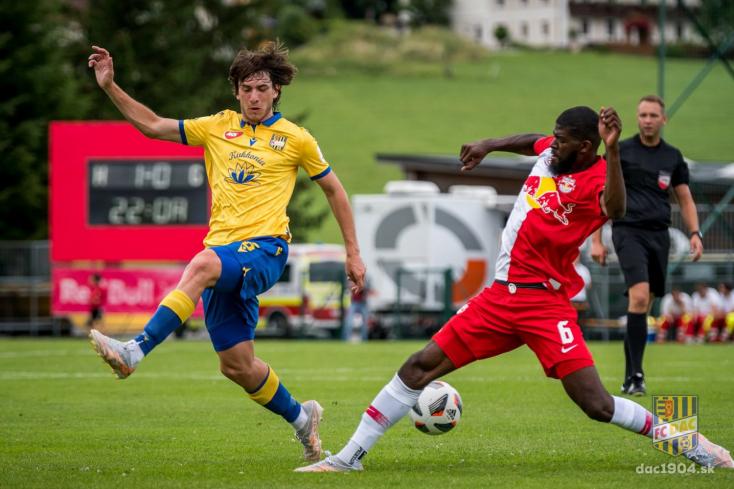 Németh Antal szerint nem vallott szégyent a DAC a Salzburg elleni előkészületi mérkőzésen