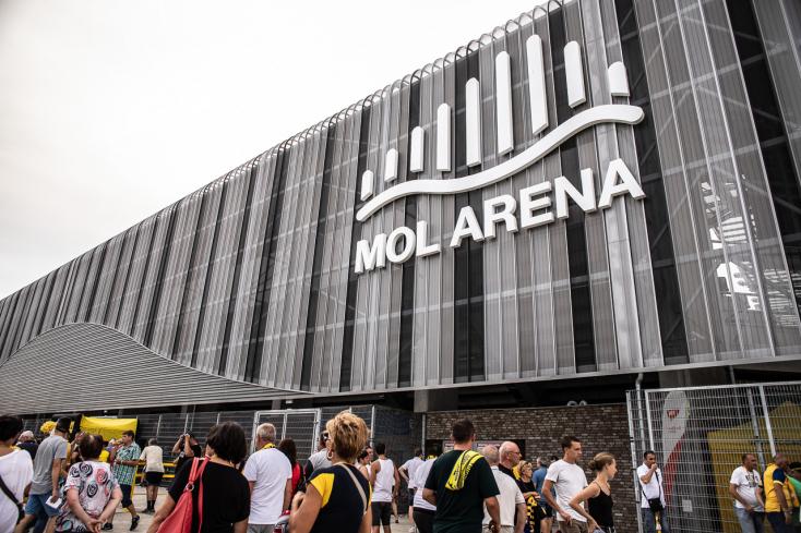 Az év stadionja címre jelölték a MOL Arénát