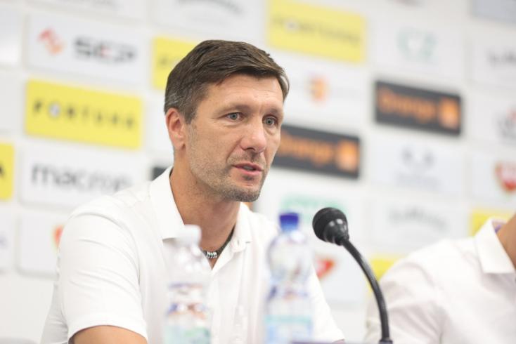 """DAC-Slovan – Németh: """"A maihoz hasonló játékot minél többször meg kell ismételnünk"""""""