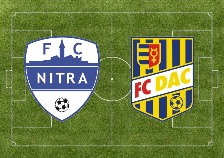 Fortuna Liga: FC Nitra – FC DAC 1904 3:1 (Online)