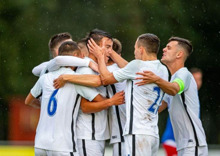 DAC-válogatott: Vida Máté meghálálta a bizalmat, hármat vágott Herc, a sárga-kékek korábbi játékosa
