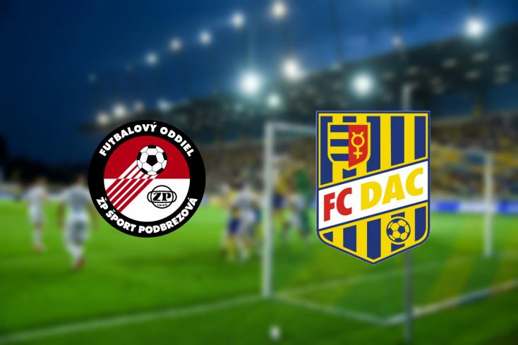 Fortuna Liga: FK Železiarne Podbrezová – FC DAC 1904 1:2 (Online)