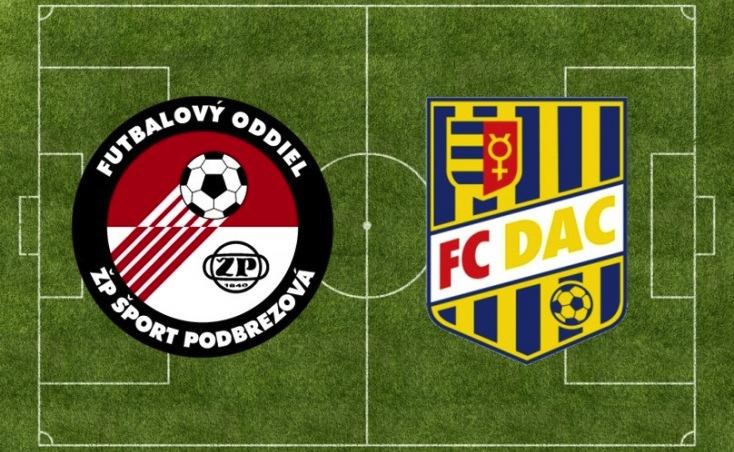 FL: FK Železiarne Podbrezová – FC DAC 1904 0:2