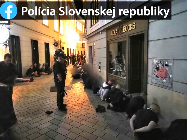 DAC-Cracovia: Rendkívüli állapot Dunaszerdahelyen, hogy ne fordítsák föl a várost a futballhuligánok!