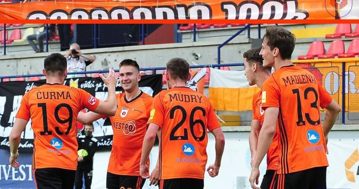 Fortuna Liga, rájátszás, 3. forduló: Bukott a Žilina, meccslabda a DAC-nál