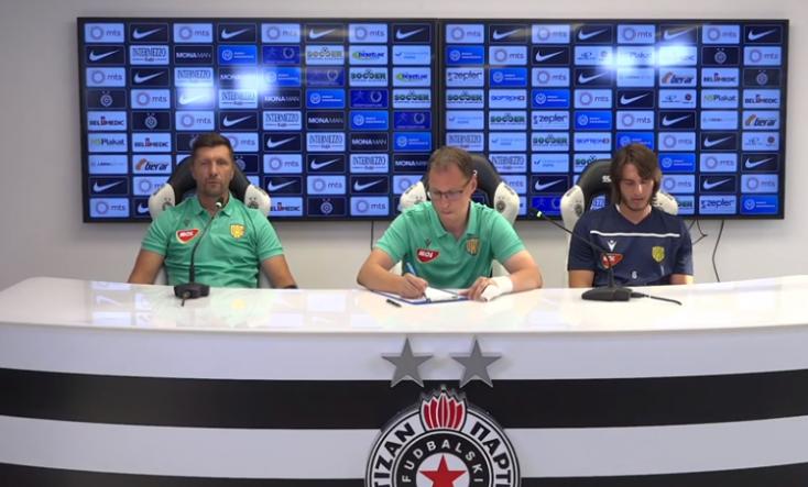 """Konferencia-liga: """"Azzal a céllal érkeztünk, hogy nyerjünk és továbbjussunk"""" – bizakodó a DAC a Partizan elleni mérkőzés előtt"""